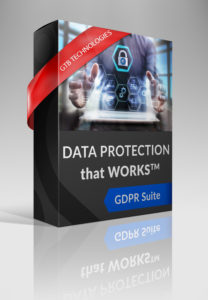GDPR 2018 GTB Technologies Data Protection suite pic