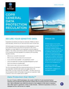 GTB Technologies GDPR Assessment_ds