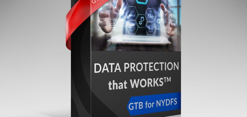 GTB Data Protection for NYDFS