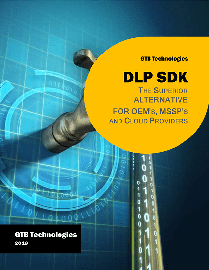 GTB DLP SDK Data Sheet 2018