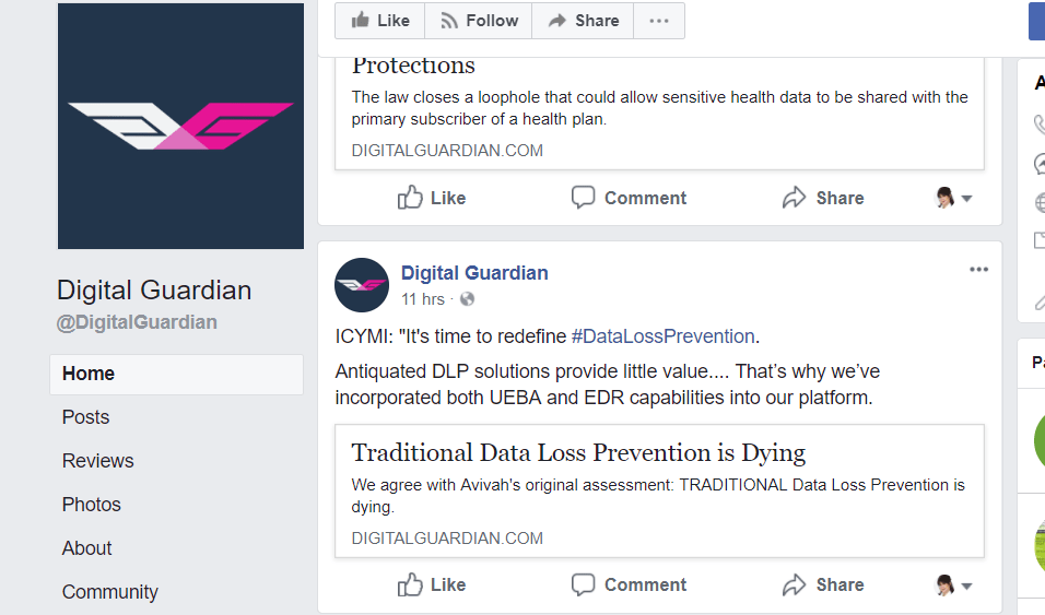 Digital Guardian Alternative